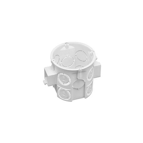 Puszka instalacyjna fi 60 łączeniowa, głęboka, biała