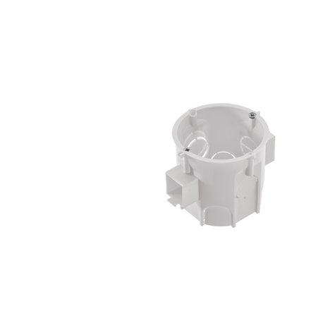 Puszka PK60 Lux głęboka łączeniowa z wkrętami biała