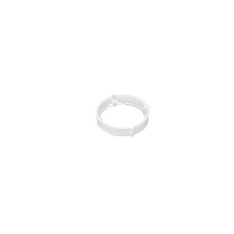 Pierścień dystansowy 12mm do serii puszek instalacyjnych fi 60, niski, biały