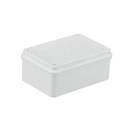 Puszka instalacyjna hermetyczna S-BOX 120x80x50, bez dławików, IP65, biała