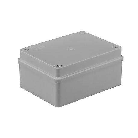 Puszka instalacyjna hermetyczna S-BOX 150x110x70, bez dławików, bezhalogenowa, IP65, szara