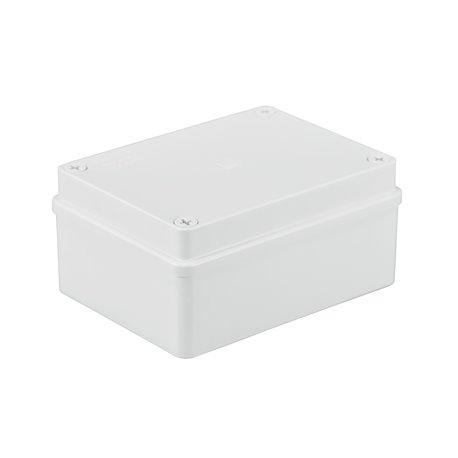 Puszka instalacyjna hermetyczna S-BOX 150x110x70, bez dławików,IP65, biała