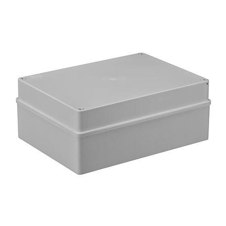 Puszka instalacyjna hermetyczna S-BOX 300x220x120, bez dławików, bezhalogenowa, IP65, szara