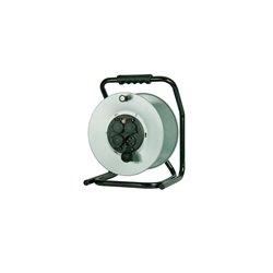 Rozgałęźnik na bębnie metalowym Home&Garden fi 305, 4xGZ16A (250V), IP44, wyłącznik termiczny