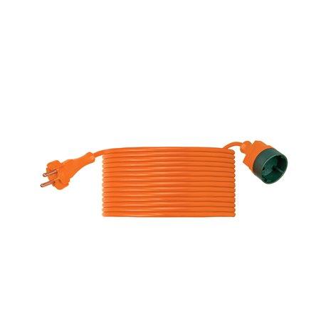 Przedłużacz ogrodowy CLASSIC H03VV F 2x1-40m, igielit, pomarańczowy