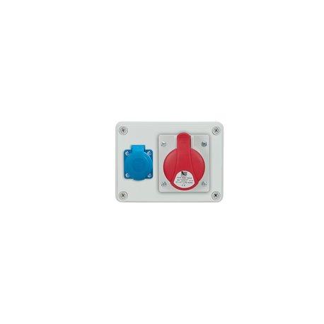 Rozdzielnica R-BOX 150, 1x16A/4p, 1x250V/16A