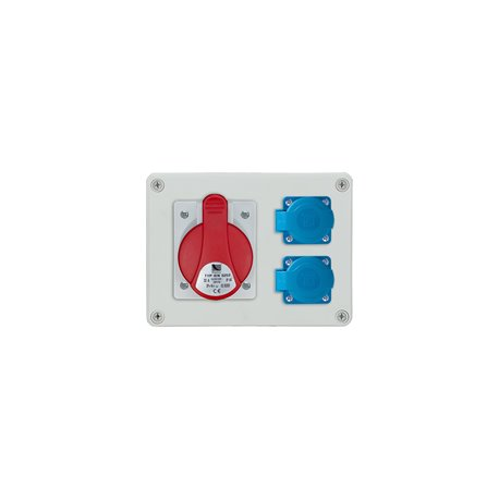 Rozdzielnica R-BOX 190, 1x32A/4p, 2x250V/16A