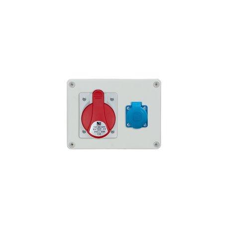 Rozdzielnica R-BOX 190, 1x32A/5p, 1x250V/16A