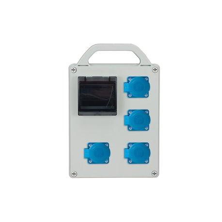 Rozdzielnica R-BOX 240R-4S, 4x250V/16A, puste okno
