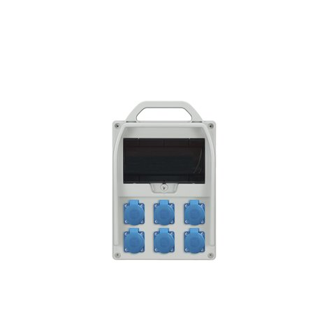 Rozdzielnica R-BOX 300R 9S, 6x250V/16A