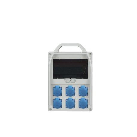 rozdz.R-BOX 300R 6x250V, 6x B 16/1p .9S