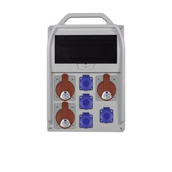 rozdz.R-BOX 382R 11S 3x32/5,4x250V zabezp. 2xB32/3,B16/1