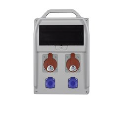 rozdz.R-BOX 382R 11S 2x32/5,2x250V zab. różn.prąd 2xB32/3,B16/1, 4/40/0,03