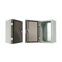 szafka rozdzielcza herm.210x300x130mm IP65, drzwi nieprzeźroczyste, odporna na UV