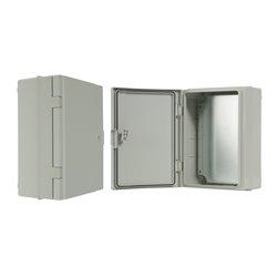 szafka rozdzielcza herm.260x350x150mm IP65, drzwi nieprzeźroczyste