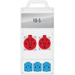 rozdz. R-BOX SLIM 10S 16A/5p, 32A/5p, 3x230 V